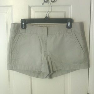 JCrew Khaki Broken In Chino Shorts